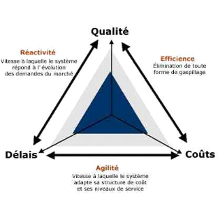 Implantation ERP Triangle de performance